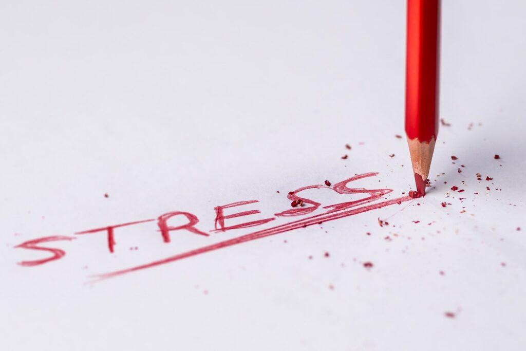 Penna och ordet stress
